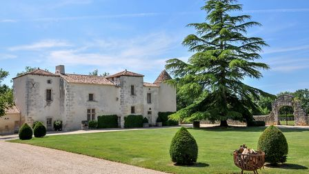 This renovated historic property in Charente is listed and for sale...