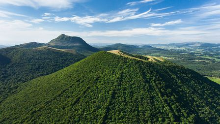 The Auvergne volcanoes in central France remain highly underrated ©Francis Cormon
