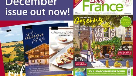 The December 2017 issue of Living France is out now!