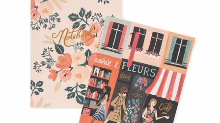 We have lots of gift ideas for your list to Père Noël, like these notebooks from Rifle Paper Co