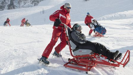 Handiski is available at a number of French ski resorts including Le Grand Bornand © P Lebeau / Arav