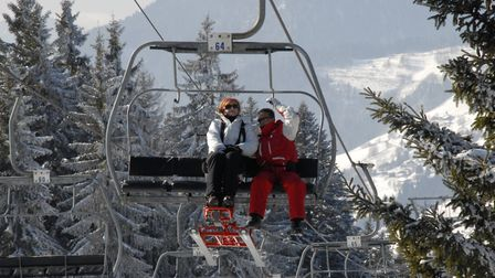 A chair lift makes the slopes in Morzine accessible © Ski 2 Freedom