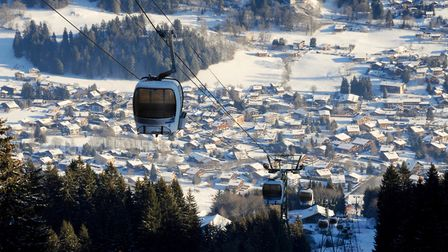 Megeve in the French Alps © Adam Batterbee