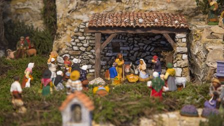 Santons are figures made from clay that originate from Provence © Aix-en-Provence tourisme