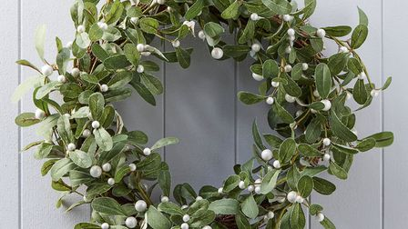 Brighten up your front door with this artifical wreath from Not On The High Street