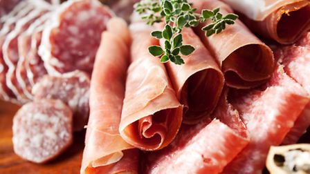French charcuterie pairs well with Beaujolais Nouveau ©nschatzi-ThinkstockPhotos