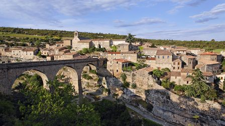 The Plus Beau Village of Minerve in Hérault ©Getty Images/amana images RF