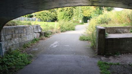 Surviving bridge and lock south of Derby
