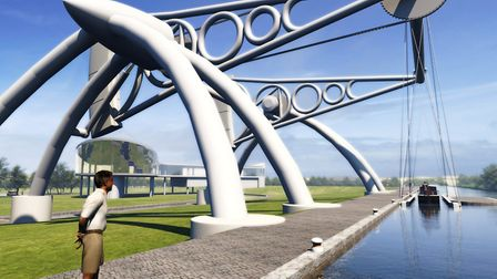 Impression of the Derby Arm boat lift