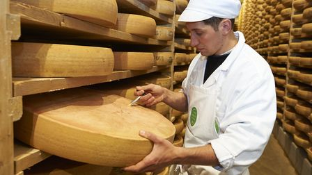 Comté cheese is a local specialty in the Jura Mountains ©F.JOLY / CNIEL