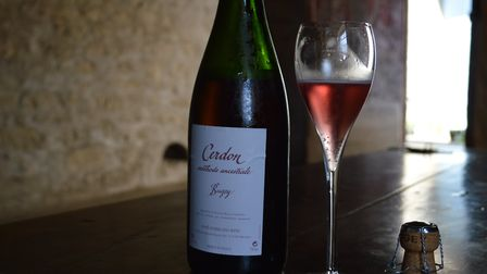 Cerdon is a sparkling rosé produced in the Bugey valley in Ain, France