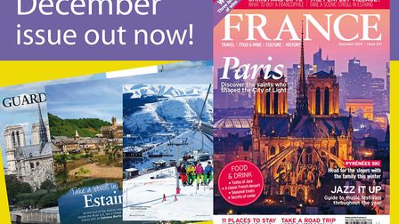 The December 2017 issue of FRANCE Magazine is now on sale!