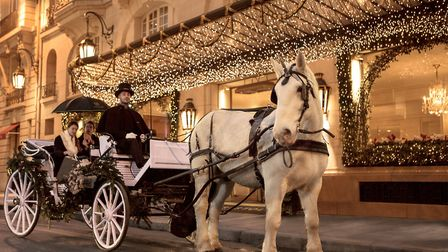 Find somewhere magical to stay this Christmas such as Le Bristol in Paris