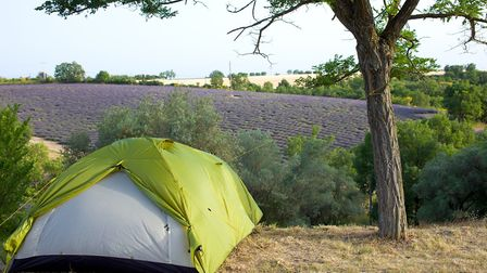 Camping in Provence © Belahoche / Dreamstime