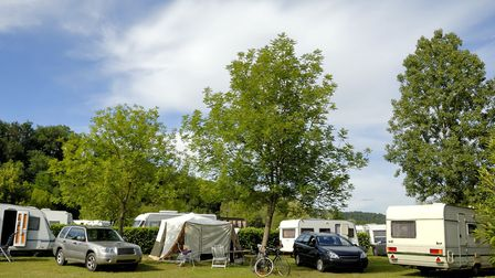 A campsite in France © vanbeets / ThinkstockPhotos