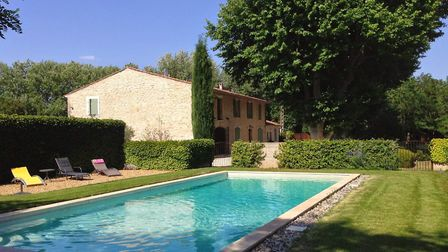 A pool is a must for hot summer days in Bouches-du-Rhône...