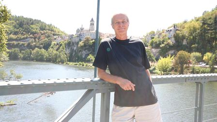 Dick Schrader loves the Lot department in south-west France
