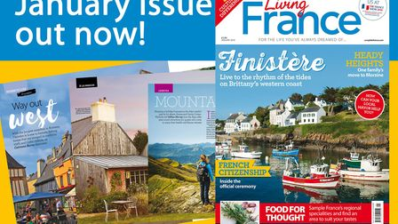 The January 2018 issue of Living France is out now!