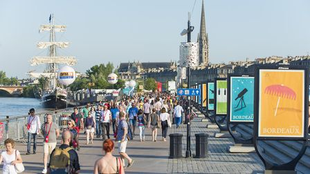 The Fete le Vin a Bordeaux is just one of the events happening in France in 2018 © Vincent Bengold