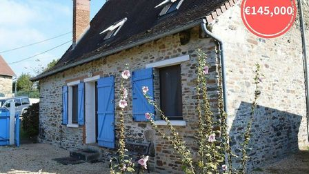 A renovated stone cottage full of character