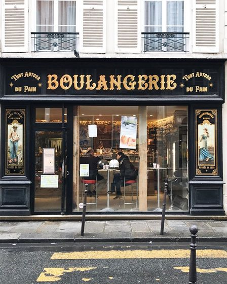 Trying out different boulangeries is all part of the job