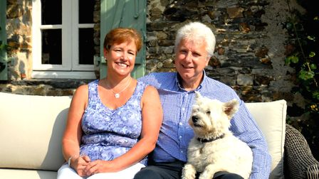 Susan and Roger Palmer have created a B&B their guests love as much as they do