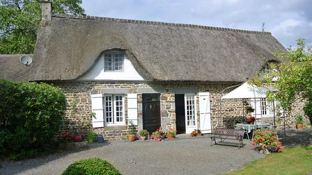 Four-bedroom thatched house in Orne from A House in Normandy
