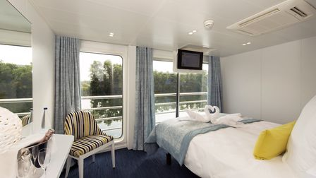 Cabine on a CroisiEurope river cruise boat