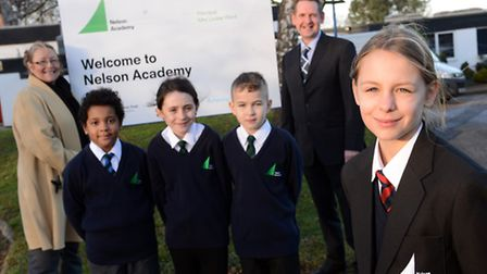 The Neslon Academy has been officially opened, after being renamed from Clackclose Primary School in