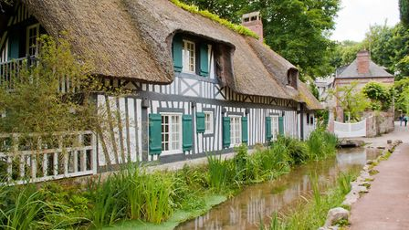 Veules-les-Roses one of the most beautiful villages in Normandy © guitou60 / Fotolia