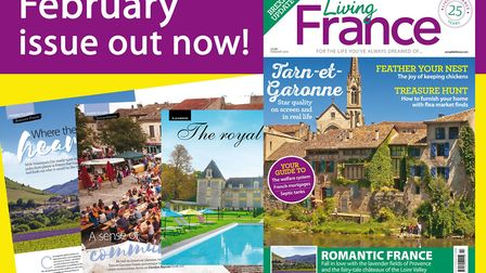 The February 2018 issue of Living France is out now!
