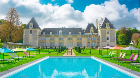 See inside this gorgeous château in the February issue of Living France