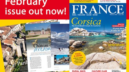 The February 2018 issue of FRANCE Magazine is on sale now