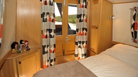 Plenty of space in the cosy cabin