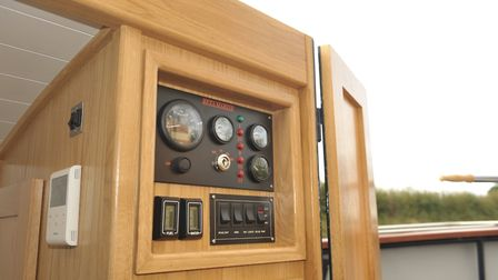 Dials and switchgear clear and effective