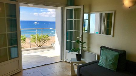 Duplex apartment overlooking the Cote d'Azur in Frejus from Immo-Liberte