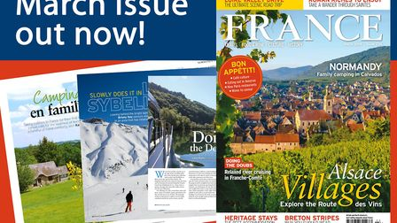 The March 2018 issue of FRANCE Magazine is on sale now