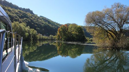 We take a river cruise in Franche-Comté in the March 2018 issue of FRANCE Magazine © Lara Dunn