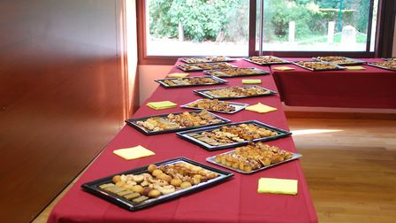 As with any French celebration, there was lots of good food to enjoy