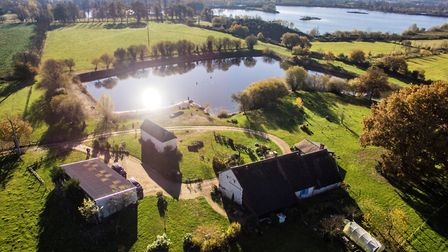 Five-bed house with a lake in Sarthe from My French House