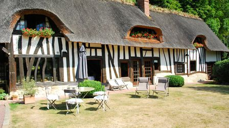 Traditional half-timbered house in Normandy from Sextant French Properties