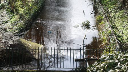 A remnant of the Croydon Canal in Anerley, south London