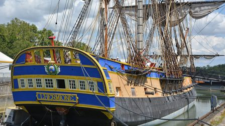 The Hermione, a replica of the 18th-century frigate © Pline / CC BY-SA 40