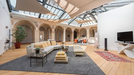An incredible converted convent in the heart of Dijon in Burgundy
