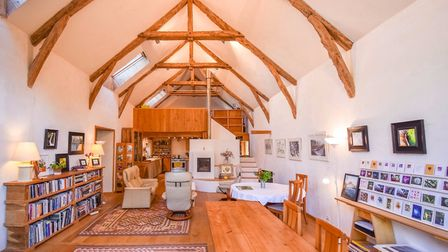 An unusual converted barn with a cathedral ceiling for sale in Tarn-et-Garonne