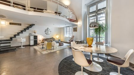 Set in an old hospital, this apartment is on the market in central Lyon