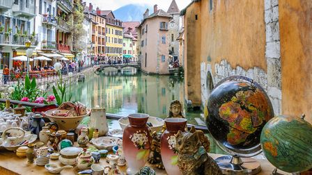 French brocantes are havens for second-hand treasures © JASCKAL / Fotolia