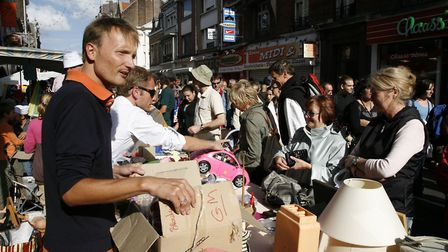 Braderie de Lille is one of the biggest flea markets in the world © OT Lille / M Dufour photographie
