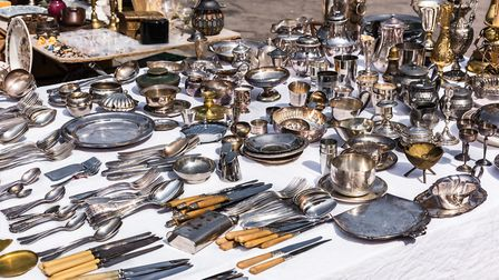 You can find almost anything at a French brocante © AlexKozlov / Thinkstockphotos