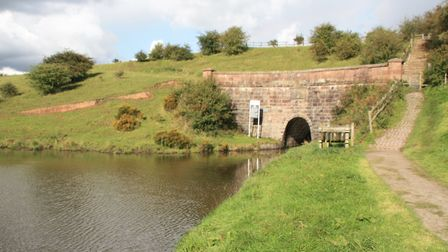 The approach to Leek Tunnel